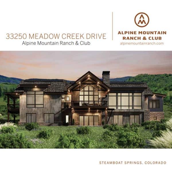 lot 44 summer brochure - Alpine Mountain Ranch & Club Broker Toolkit