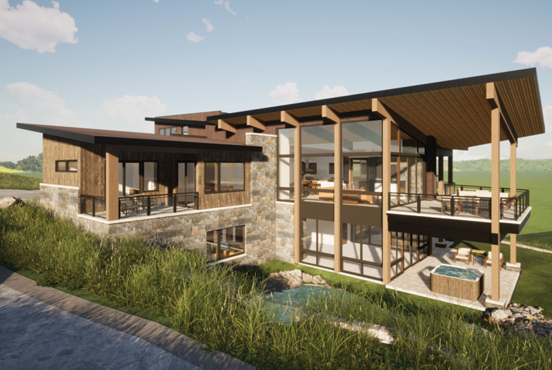 rendering 33 - Stunning New Custom Homes Coming to the Ranch