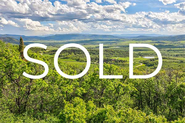sold homesite 1 - Construction Booms at Luxury Rural Ranch